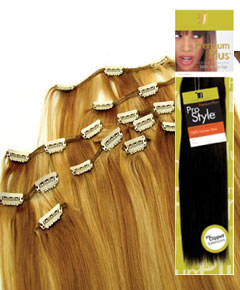 Clip On Hair Extensions til Langt h�r - ca 50 cm