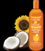 Creme Of Nature DETANGLING & CONDITIONING SHAMPOO with SUNFLOWER & COCONUT 32 oz
